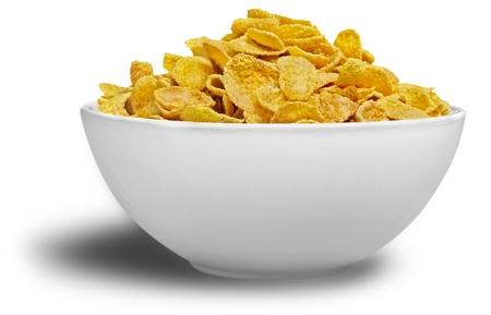 Bowl of Cornflakes 写真素材