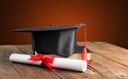 Academic College Degree Education Insight Concept Stock Photo