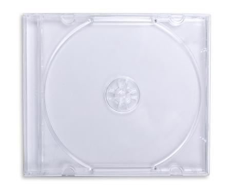 Plastic CD / DVD Jewel Case Isolated Banque d'images - 108367561