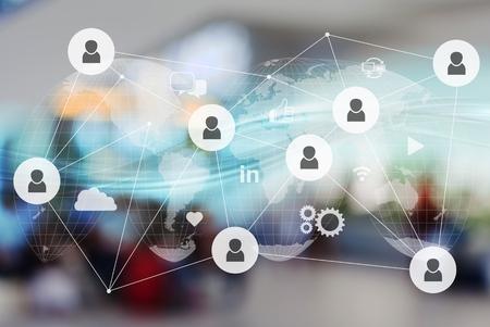 Technology digital hub application platform network server