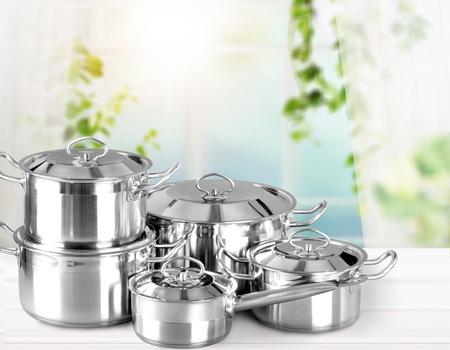 Roestvrijstalen potten en pannen