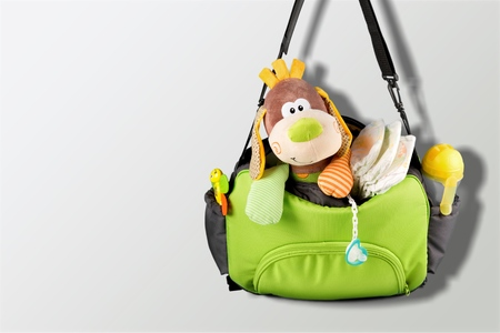 Fabric bag for mom to keep baby