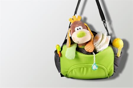 Stoffen tas voor mama om de baby te houden
