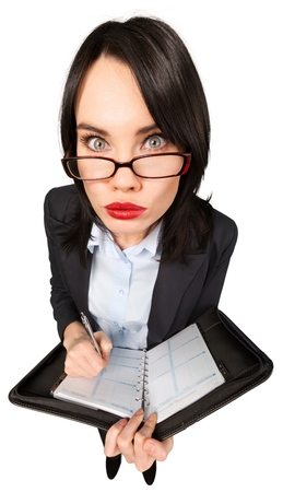 strict young woman 版權商用圖片