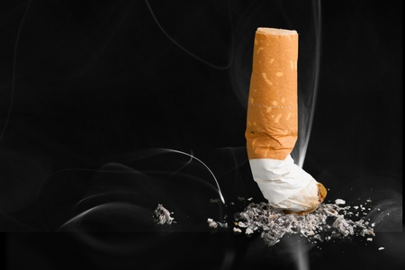 Quit smoking butt concept
