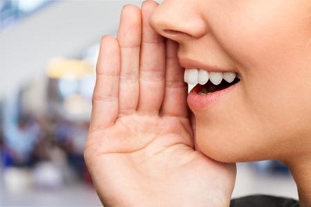 Close up portrait of a smiling skin Reklamní fotografie