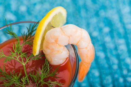Shrimp Cocktail Фото со стока