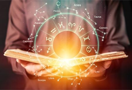 Horoskop Astrologie Sternzeichen Horoskop Sternzeichen Glückszeichen Mythos Sterne Symbol, traditionell