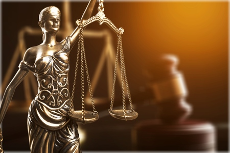 Legge o concetto di giustizia Archivio Fotografico