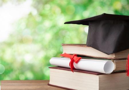 Concepto de conocimiento de educación de grado universitario académico