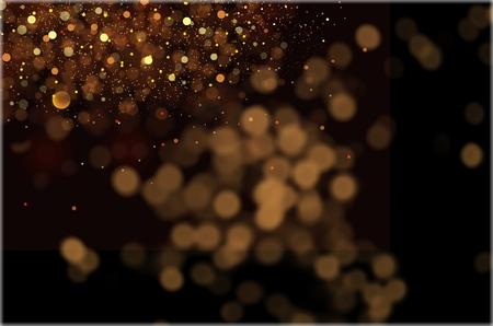 Glitter vintage lights Imagens