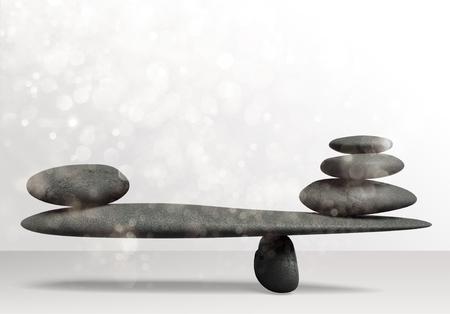 Stone Balance concept