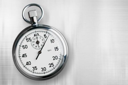Timer chronometer clock counter speed stop stopwatch Stock Photo