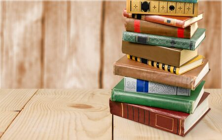 Stapel Bücher Standard-Bild