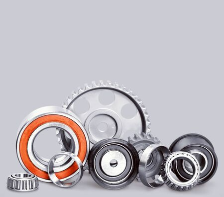 Set of Car parts on background 스톡 콘텐츠 - 124538398