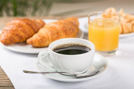 Sweet Appetizing French Breakfast Foto de archivo