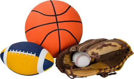 Sports Equipment - Isolated Stockfoto - 125049969