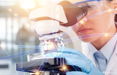 Medical research laboratory science pharmaceutical scientist technology