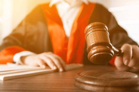 Gavel judge with lawyer working Stockfoto - 125220671