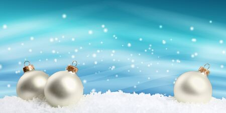 Christmas decorations isolated  on white background Banque d'images - 125048657