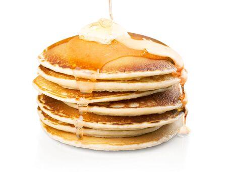 Stapel leckerer Pfannkuchen