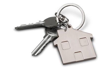 Huis sleutels Stockfoto