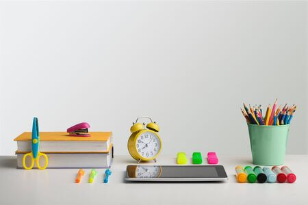 Elementary classroom concept Stock Photo - 127187084