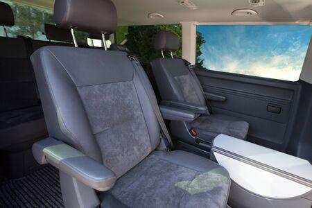 Minivan Interior Reklamní fotografie