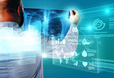 Concepto de salud médica