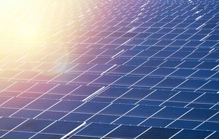 Solar panel, alternative electricity source, concept of sustainable resources, And this is a new system that can generate electricity more than the original, Thiss the sun tracking systems.          - Image Imagens
