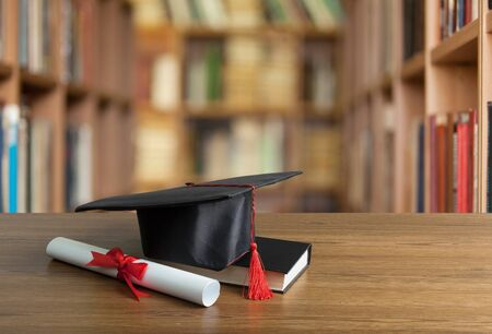 Academic College Degree Education Insight Concept Imagens