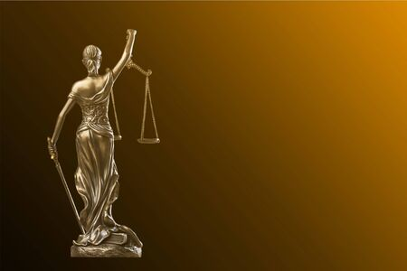 Themi symbol of justice, close-up view Banque d'images - 129099779