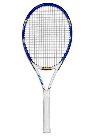 Racchetta da tennis Archivio Fotografico