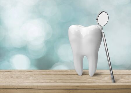 Dentist care dental attractive background beauty clinic Stock Photo