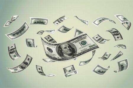 Falling Currency Money Standard-Bild - 128032609