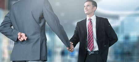 Handshake of business people Banco de Imagens