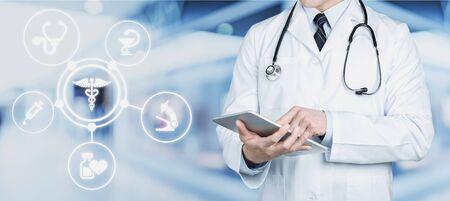 Doctor with stethoscope Reklamní fotografie