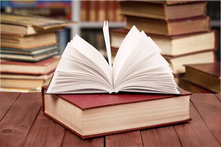 book and icons          - Image Stockfoto