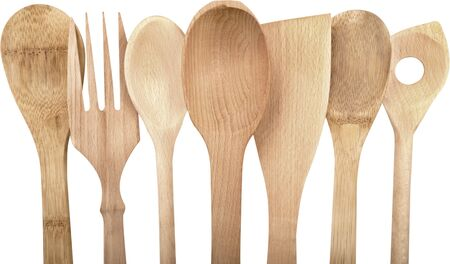 Wooden Utensils - Isolated Imagens