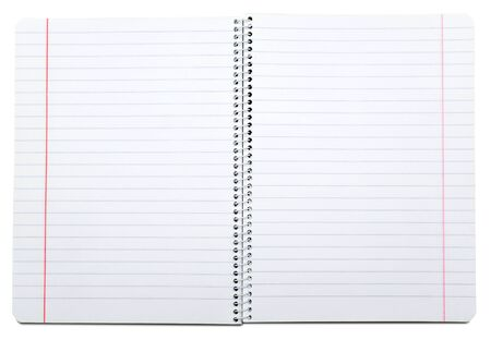 Cahier ouvert