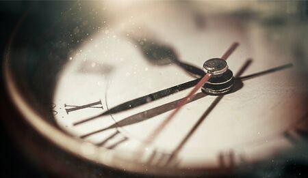 Retro old clock