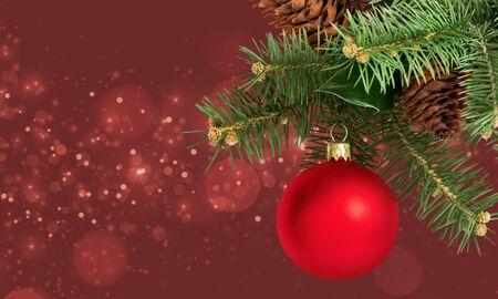 Christmas holiday background Imagens - 128905487