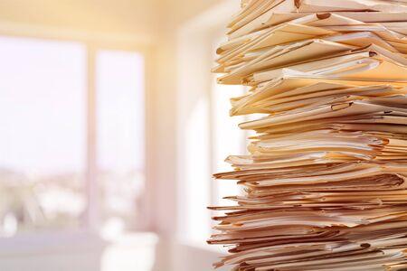 Dokumente Buchhaltung Bewertung Zuordnung Hintergrund Bürokratie beschäftigt