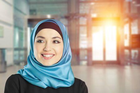 Portrait of Confidence Muslim woman
