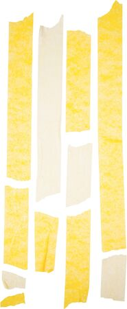 Yellow painters tape Stock fotó
