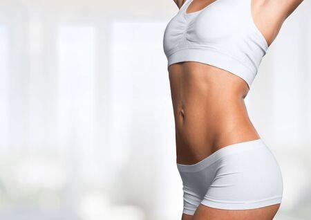 bella donna in forma