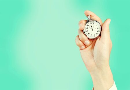 Chronomètre à main humaine, minuterie