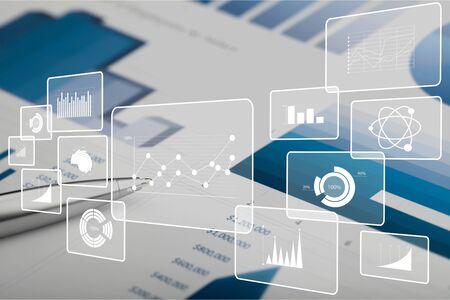 Analysing Finance chart graph