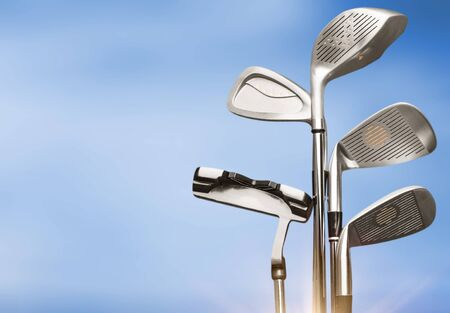 Golf, Golf Club concept Archivio Fotografico