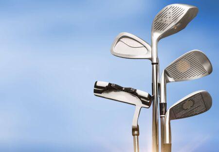 Golf, Golfclubkonzept Standard-Bild